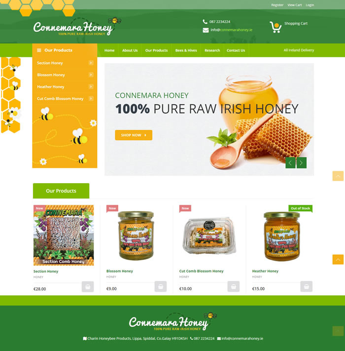 Connemara Honey