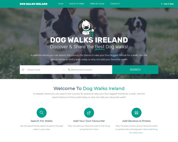 Dog Walks Ireland