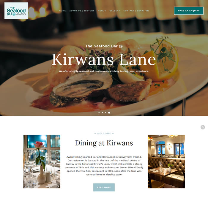 The Seafood Bar @ Kirwans Lane